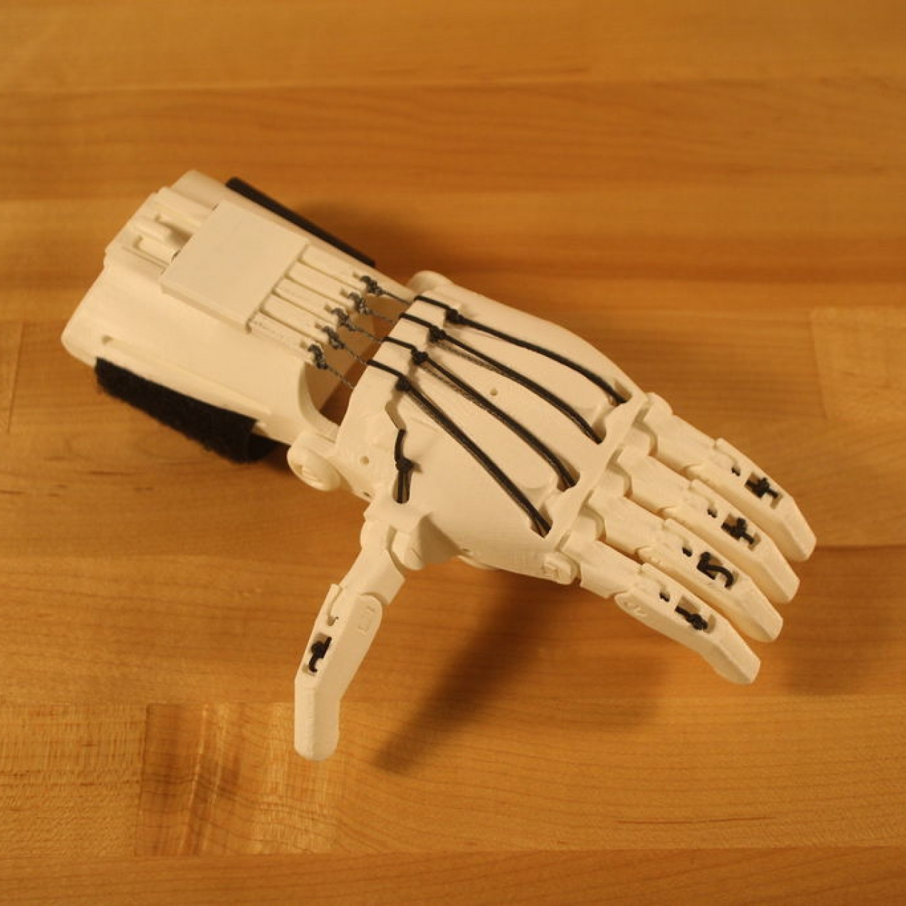 e-NABLE 3D printable designs for hands and arms